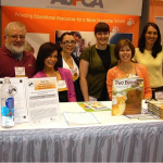 With the ASPCA crew at the book signing before the Henry Bergh Award Ceremony.