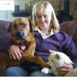 Melinda, Bobbi and Bob Cat